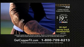 Copper Fit TV Spot, 'Take On Your Pain' - Thumbnail 8