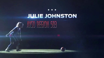 AYSO TV Spot, 'Let Them Play' Featuring Julie Johnston - Thumbnail 2