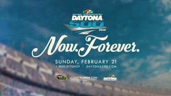 NASCAR 2016 Daytona 500 TV Spot, 'Now. Forever.'