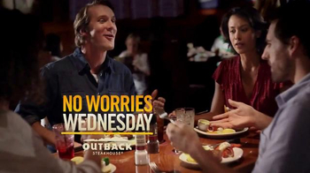 Outback Steakhouse No Worries Wednesday TV Spot, 'All This, For That' - Thumbnail 1