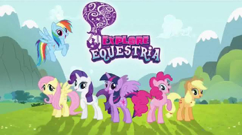 My Little Pony Explore Equestria Pony Singles TV Spot, 'Faces to Discover'