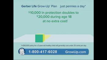 Gerber Life Grow-Up Plan TV Spot, 'Children's Life Insurance' - Thumbnail 4