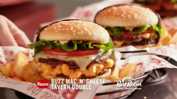 Red Robin Cheese Lover's Lineup TV Spot, 'Antojos de queso' [Spanish] - Thumbnail 3