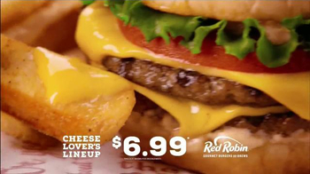Red Robin Cheese Lover's Lineup TV Spot, 'Antojos de queso' [Spanish] - Thumbnail 6