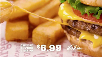 Red Robin Cheese Lover's Lineup TV Spot, 'Antojos de queso' [Spanish] - Thumbnail 7
