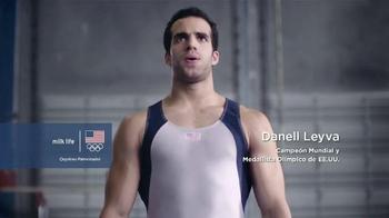 Milk Life TV Spot, 'Atletas Olímpicos' con Danell Leyva [Spanish] - 234 commercial airings