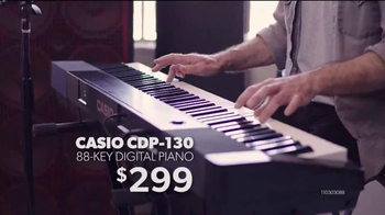 Guitar Center Labor Day Savings Event TV Spot, 'Piano & Mic' - Thumbnail 4