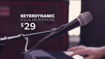 Guitar Center Labor Day Savings Event TV Spot, 'Piano & Mic' - Thumbnail 5