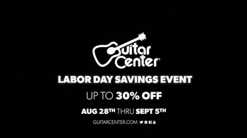 Guitar Center Labor Day Savings Event TV Spot, 'Piano & Mic' - Thumbnail 9
