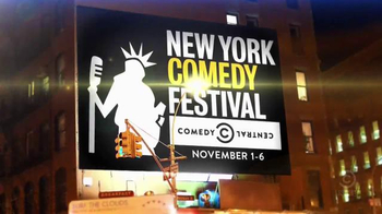 2016 New York Comedy Festival TV Spot, 'Tracy Morgan, Trevor Noah and More'