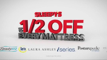 Sleepy's Labor Day Sale TV Spot, 'Sealy, Serta, Beautyrest & More'