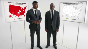 Verizon TV Spot, 'National Reliability' Featuring Jamie Foxx - 14 commercial airings