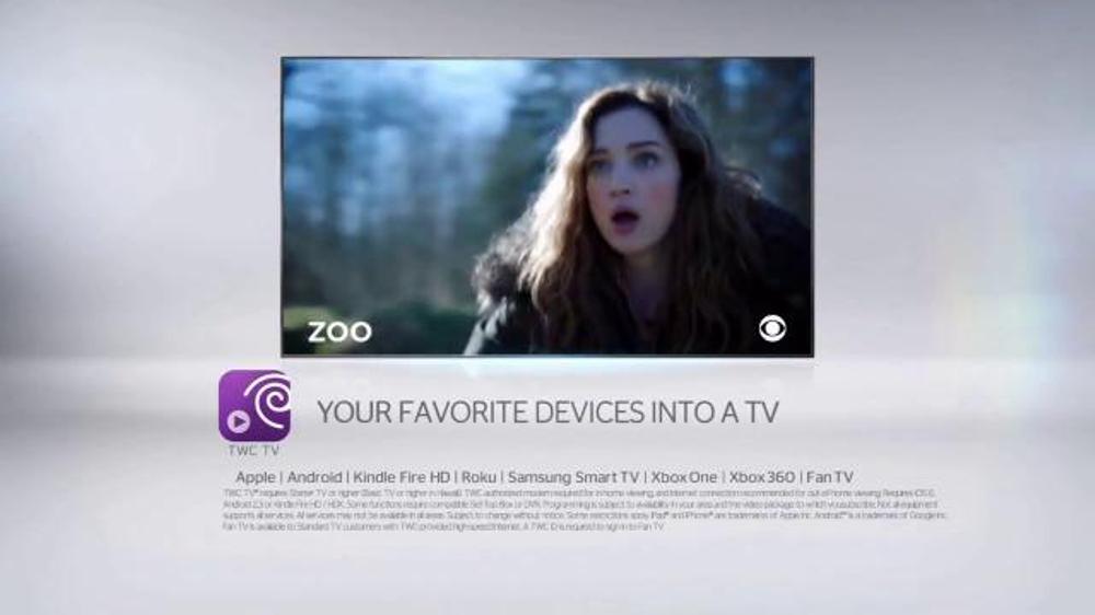 TWC TV App TV Commercial, 'CBS Shows' - Video