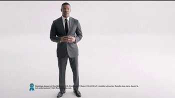 Verizon TV Spot, 'Best Overall Network' Featuring Jamie Foxx - Thumbnail 1