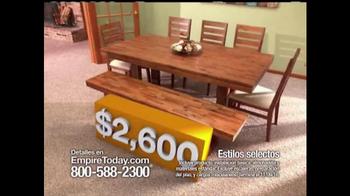 Empire Today Venta 1/2 Precio TV Spot, 'Estilos selectos' [Spanish]
