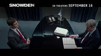 Snowden - Alternate Trailer 4