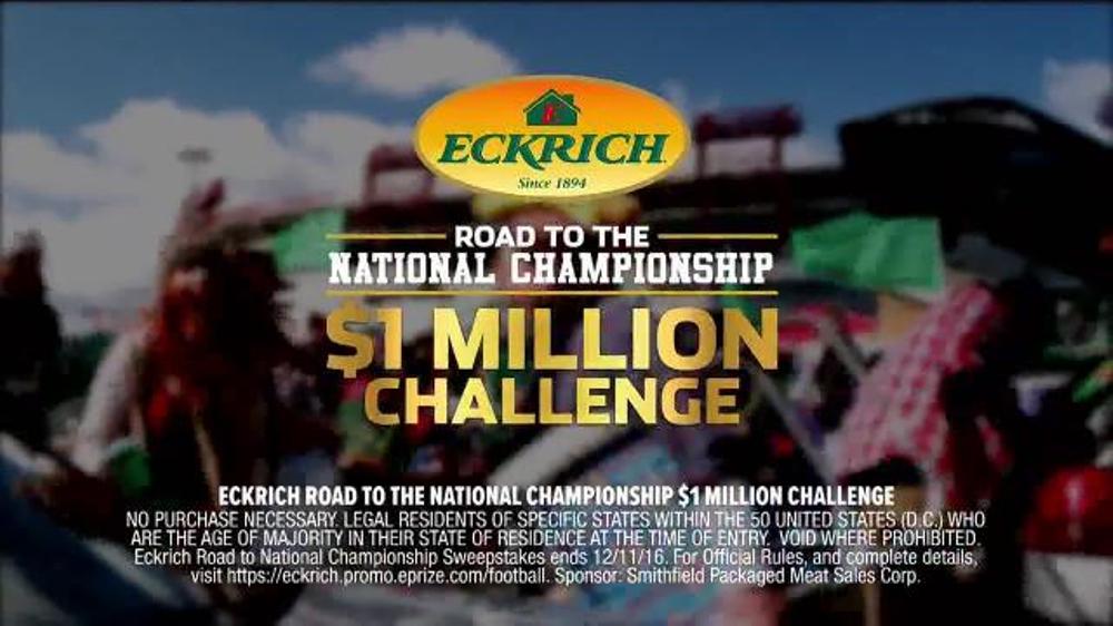 Eckrich $1 Million Challenge TV Commercial, 'Smoked Sausage' Ft. Kirk Herbstreit