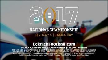Eckrich $1 Million Challenge TV Spot, 'Smoked Sausage' Ft. Kirk Herbstreit - Thumbnail 7
