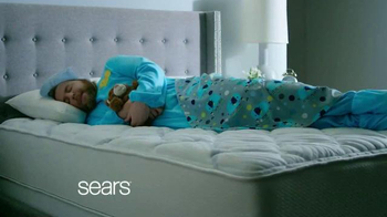 Sears Labor Day Mattress Event TV Spot, 'Sleep Like a Baby'