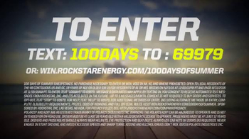 Rockstar Energy 100 Days of Summer Sweepstakes TV Spot, 'Your Choice' - Thumbnail 6