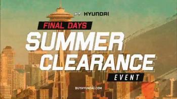 Hyundai Summer Clearance Event TV Spot, 'Final Days: Elantra SE' - Thumbnail 2