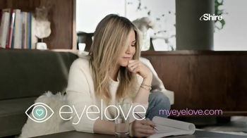 Eyelove TV Spot, 'Dry Eyes' Featuring Jennifer Aniston - Thumbnail 9