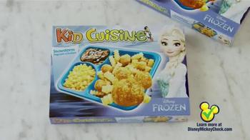 Kid Cuisine Snowstorm Popcorn Chicken TV Spot, 'Paper Snowflakes' - Thumbnail 5