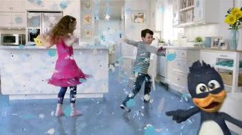 Kid Cuisine Snowstorm Popcorn Chicken TV Spot, 'Paper Snowflakes' - Thumbnail 7
