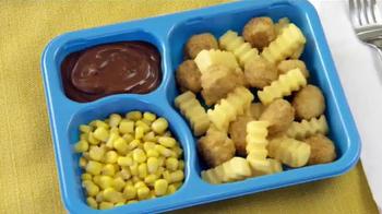 Kid Cuisine Snowstorm Popcorn Chicken TV Spot, 'Paper Snowflakes' - Thumbnail 9