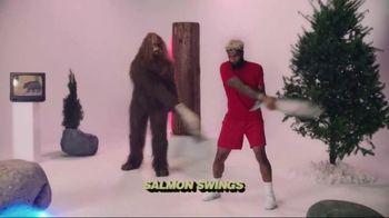 Jack Link's TV Spot,'SasquatchWorkout: Salmon Swings' Ft Odell Beckham Jr. - 549 commercial airings
