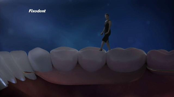 Fixodent Plus Superior Hold TV Spot, 'Holds Strong'
