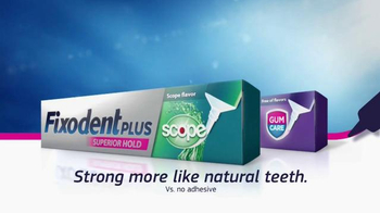 Fixodent Plus Superior Hold TV Spot, 'Holds Strong' - Thumbnail 10