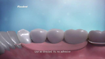 Fixodent Plus Superior Hold TV Spot, 'Holds Strong' - Thumbnail 6