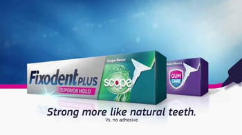 Fixodent Plus Superior Hold TV Spot, 'Holds Strong' - Thumbnail 9