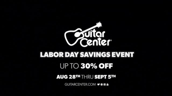 Guitar Center Labor Day Savings Event TV Spot, 'Guitars' - Thumbnail 9