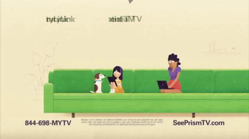 CenturyLink Prism Essential TV Package TV Spot, 'Big Green Couch' - Thumbnail 1