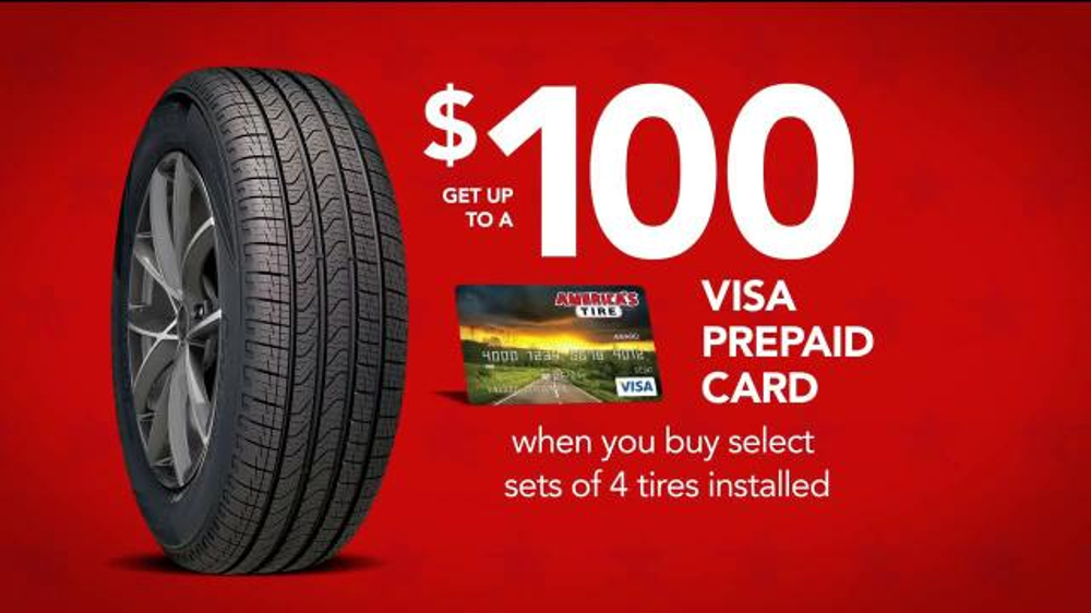 Deals On Tires >> America S Tire Labor Day Deals Tv Commercial Visa Prepaid Cards Video