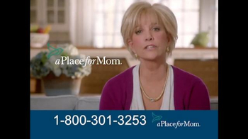 A Place For Mom TV Spot, 'Find the Right Care' Featuring Joan Lunden