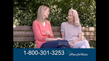 A Place For Mom TV Spot, 'Find the Right Care' Featuring Joan Lunden - Thumbnail 2