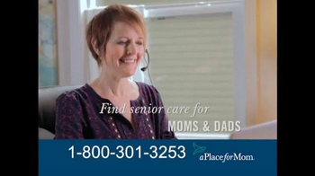 A Place For Mom TV Spot, 'Find the Right Care' Featuring Joan Lunden - Thumbnail 3