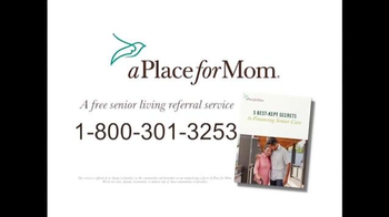 A Place For Mom TV Spot, 'Find the Right Care' Featuring Joan Lunden - Thumbnail 5