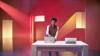 Microsoft Surface Pro 4 TV Spot, 'Surface Pro 4 Is the One for Me' - Thumbnail 1