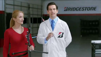 Bridgestone DriveGuard TV Spot, \'Tire vs. US Olympic Archer Khatuna Lorig\'