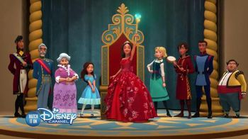 Elena of Avalor Collection TV Spot, 'Disney Junior: Courage & Kindness' - 105 commercial airings