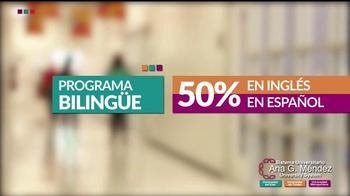 Sistema Universitario Ana G. Méndez TV Spot, 'Programa bilingüe' [Spanish] - 3 commercial airings