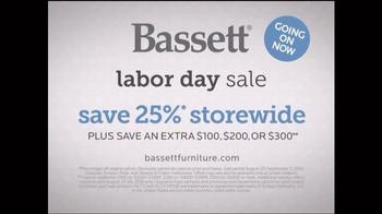 Bassett Labor Day Sale TV Spot, 'Design Studio: Speechless' - Thumbnail 5