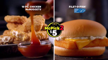 McDonald's McPick 2 TV Spot, 'The Lineup' - Thumbnail 4