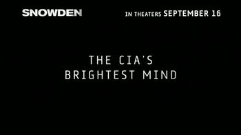 Snowden - Alternate Trailer 7