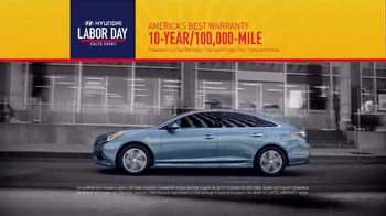 Hyundai Labor Day Sales Event TV Spot, 'Summer's Over' - Thumbnail 6
