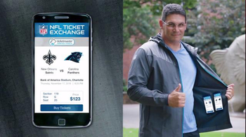 NFL Ticket Exchange TV Spot, 'Lesson' Featuring Mike Shanahan, Ron Rivera - Thumbnail 5